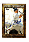 1997 Topps Rookie of the Year Derek Jeter Certified Autograph Baseball Card