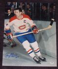 JEAN BELIVEAU Signed Montreal CANADIENS 16 x 20 PHOTO with PSA COA