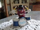 California Raisins, Drums and Drummer Figure by Applause, 1988, PVC, 3