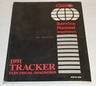 1991 Chevy Geo Tracker Factory Electrical Diagnosis Supplement Manual 40451