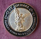St Michael Police Officer Prayer Challenge Coin Collectable Novelty Memora