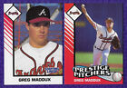 1993 STARTING LINEUP CARDS PRESTIGE PITCHERS GREG MADDUX CHICAGO CUBS