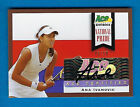 2013 Ace Authentic Signature Series Tennis Cards 17