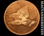 1858 FLYING EAGLE CENT SEMI KEY  BETTER DATE  R9881