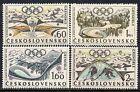 1763 CZECHOSLOVAKIA 1968 Grenoble Winter Olympic Games MNH Set