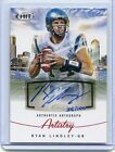 2012 SAGE HIT Ryan Lindley Artistry Autograph 56 100 #AA-10 NM Condition