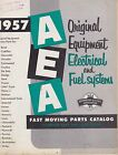 MISC 1118 1957 AEA CAR ELECTRICAL AND FUEL SYSTEM parts catalog