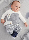 US Baby Toddler Boy Elephant Tops T shirt Stripe Long Pants Kids Set Outfits 70