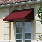 Awntech 3 Feet New Yorker Window Entry Awning 16 Inch Height by 30 Inch Diamete