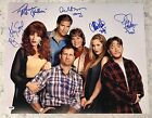 Married With Children Cast 6 Ed O'Neill Sagal Applegate Signed 16x20 PSA DNA (D)