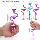 2017 Love Meter Hand Boiler Thermometer Spiral Glass Science Toy Energy Random