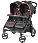 Peg Perego Book For Two Compact Easy Fold Twin Baby Double Stroller Synergy NEW