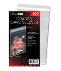 (2500) Ultra Pro Graded Card Sleeves Resealable Lip Bags Fit PSA Beckett Slabs