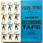 PURE-TONE REEL TO REEL BLANK MAGNETIC RECORDING TAPE ~ 1200 FEET ~ NEW