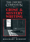 The Oxford Companion to Crime and Mystery Writing First Edition DJ 1999