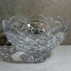 Waterford Crystal Cullen 8' Footed Bowl -Mint No Box