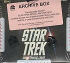 Star Trek Movies Trading Cards - 2009 - A Factory Sealed Archive Box