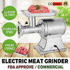 1.5HP Commercial Meat Grinder Sausage Stuffer heavy duty Kitchen Stainless Steel