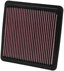 K&N 33-2304 Drop-In Replacement Air Filter For 2007-2018 Subaru Impreza WRX STi