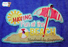 Having Fun at the Beach Title Premade Paper piecing set  by scrappintoday