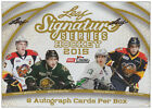 2014-15 Leaf Signature Series (2015) Hockey Hobby Box