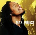 Maxi Priest - 2 The Max - Maxi Priest CD H6VG The Fast Free Shipping