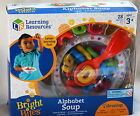 Learning Resources Bright Bites ALPHABET SOUP NEW Preschool Play Food