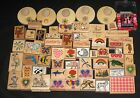 Large Lot of 50+ Assorted Rubber Stamps for Crafts Scrap Book Scrapbooking GUC