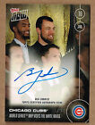 2016 Topps Now Cubs World Series MVP BEN ZOBRIST Autograph Card #OS-BZA #75 99