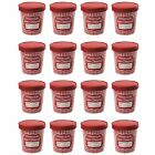 Hamilton Beach Homemade Ice Cream 1 Pint Storage Tubs and Lids Red 16 Pack