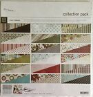 Basic Grey Figgy Pudding Scrapbook Paper Collection Pack