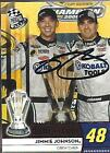 JIMMIE JOHNSON - Hand Signed Autographed - 2009 Press Pass Card #189