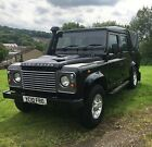 LAND ROVER DEFENDER 110 COUNTY DOUBLE CAB LWB 2010 JAVA BLACK