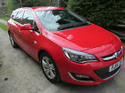 LARGER PHOTOS: 2014 14 VAUXHALL ASTRA SRI 2.0 CDTI S/S MANUAL ESTATE CAR, 36500 MILES , FULL SH