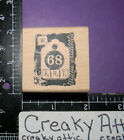 TAG ART 68 COLLAGE RUBBER STAMP LIMITED EDITION