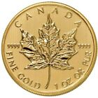 1 oz Canadian Gold Maple Leaf Coin 9999 Pure Varied Year Condition