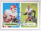 2002 Topps Heritage Real Ones Priest Holmes autograph auto #HR-PHO *67496