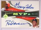 2005 Ultimate Signature MVP's George Foster & Rod Carew autograph #d 125 *67423