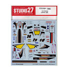 Studio27 ST27-DC831 RC212V LCR #14 2009 Decal for Tamiya 1/12