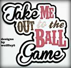 CRAFTECAFE BASEBALL KID TITLE paper piecing premade scrapbook page 3D WOLFFEY5