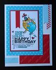 Stampin up stamp HAPPY BIRTHDAY GRAFFITI use w floating fluffles kitty cat su