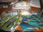 Huge Lot Parrot Feathers Macaw Cockatoo Amazon Tiny to Wing Size
