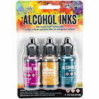 Tim Holtz Alcohol Ink 5oz 3 Pkg Nature Walk Wild Plum Buttrscotch Stream 11
