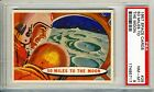 1957 Topps Space Cards #29 50 Miles To The Moon PSA 8 NM-MT