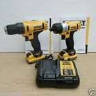 DEWALT 10.8V DCD710 DRILL DRIVER & DCF610 SCREWDRIVER 2 AH XR LI-ION + BAG