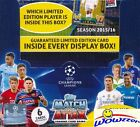 2015 2016 Topps Match Attax Champions League Box-50 Factory Sealed Packs-300 Crd