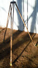 Vtg Survery or Builders Tripod for repurpose tiki Lamp Candle or Camping Uses
