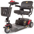 Golden Buzzaround XLS HD 3 Wheel Heavy Duty Portable Mobility Electric Scooter