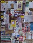 NEW huge lot scrapbook craft supplies stickers letters die cuts embellishments