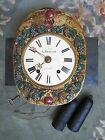 Antique French Qualit G Roudillon Wall Clock